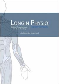 Longin Physio Imagebroschüre